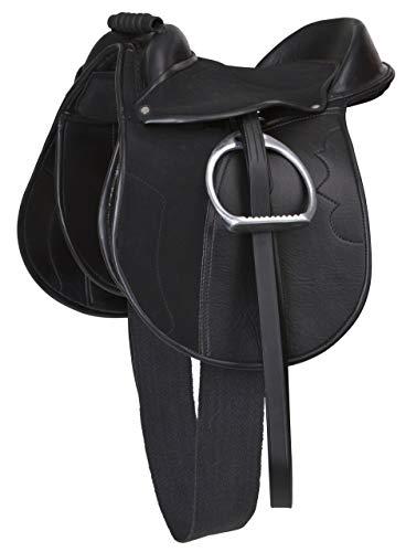 Kerbl Sattelset Economy Pony, Schwarz, 325415