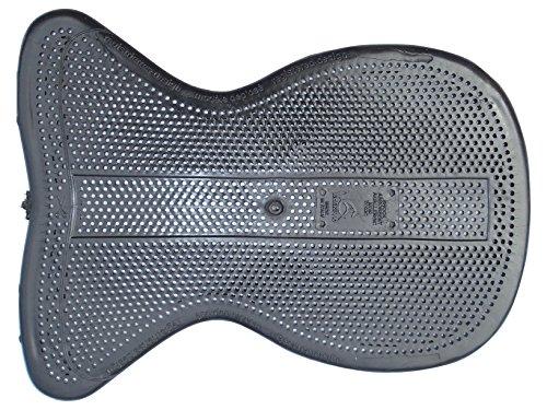 Shock Absorbing Anti-Slip & Air-Release Gelpad Therapeutic in schwarz extra dünn von Acavallo Th100BLK